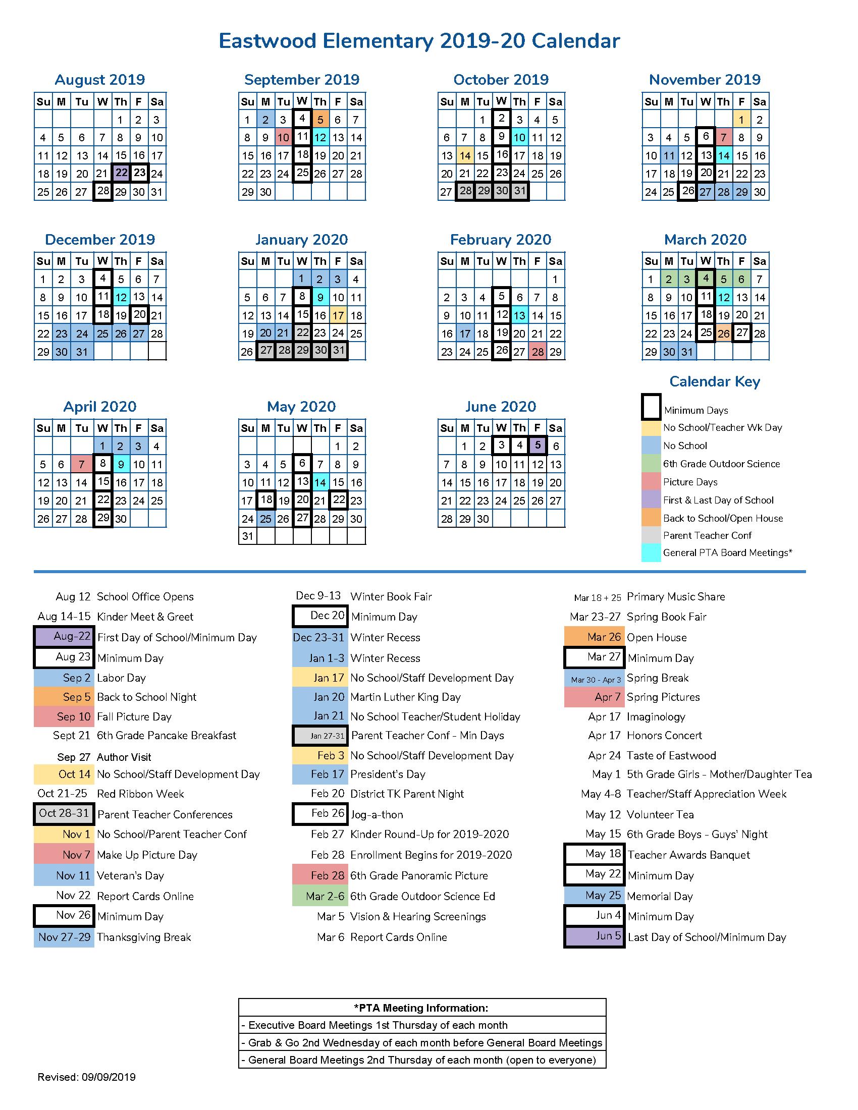 EW Calendar